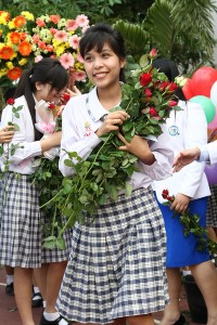 Graduate from varee chiang mai school
