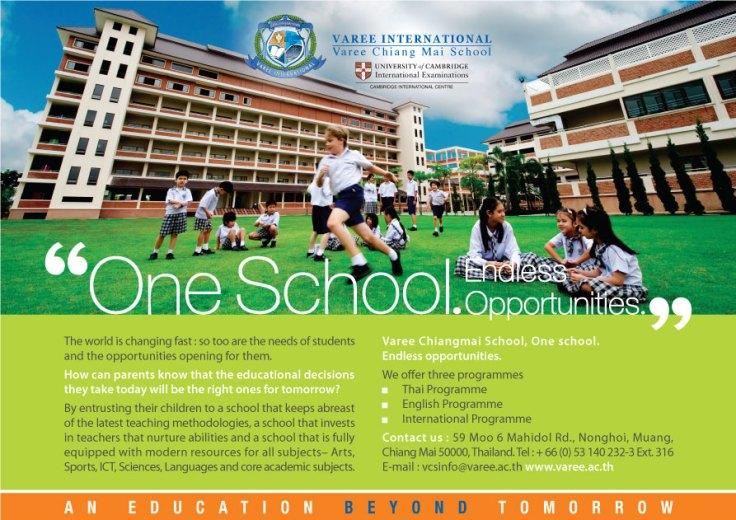 One school, endless opportunities
