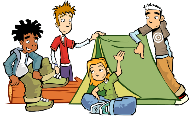 Clipart-CampingScouts