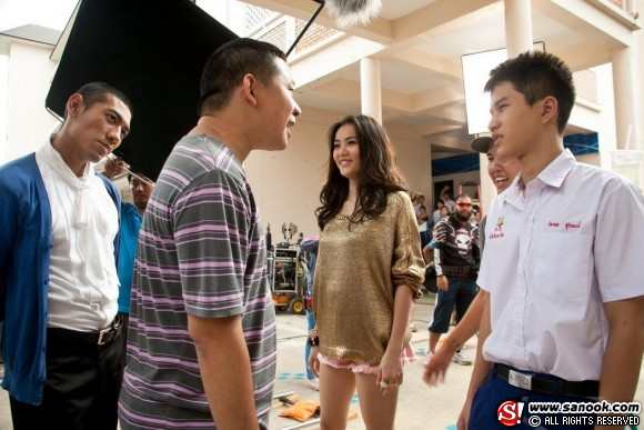 behind the scenes Fiction at Varee Chaing Mai School