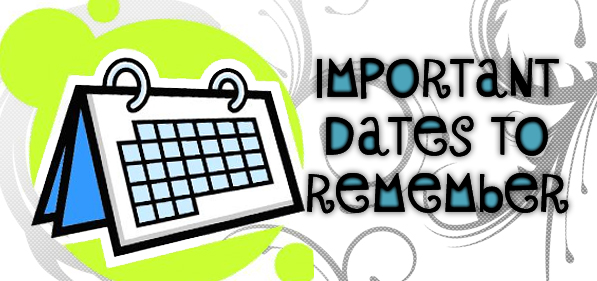 Important Dates at Varee School