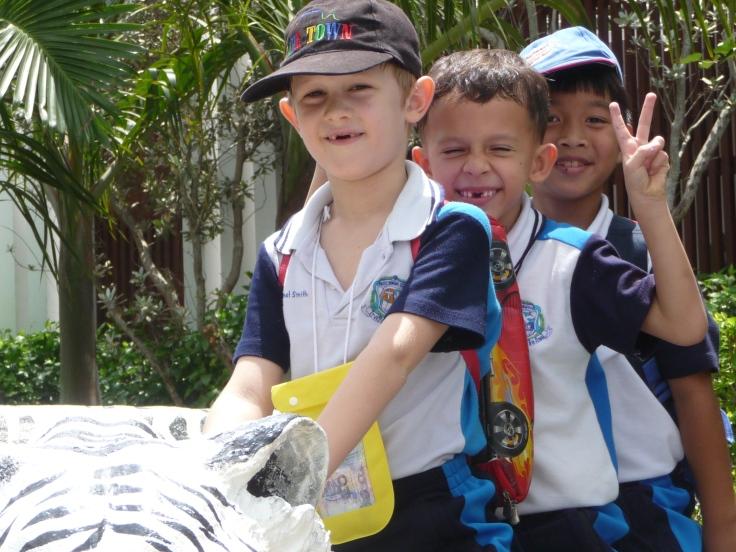 field trip international school Thailand Primary students