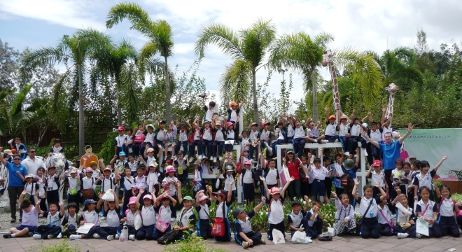 Varee School English Programme field Trip Chiangmai Thailand students