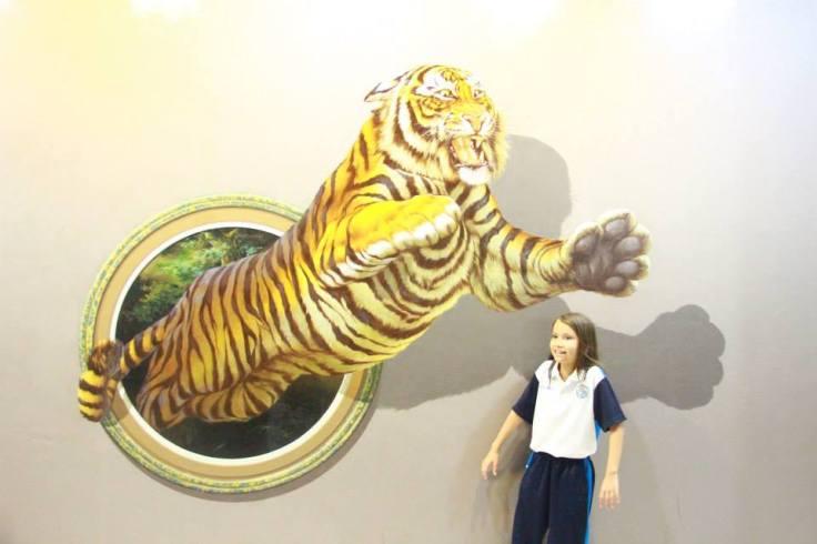 International Exhibit Art in Paradise Chiangmai 3D art Thailand school