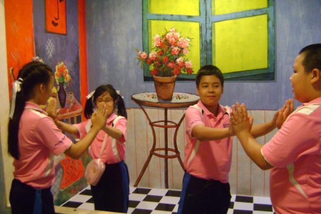 Art in Paradise Chiang Mai School field trip Thailand