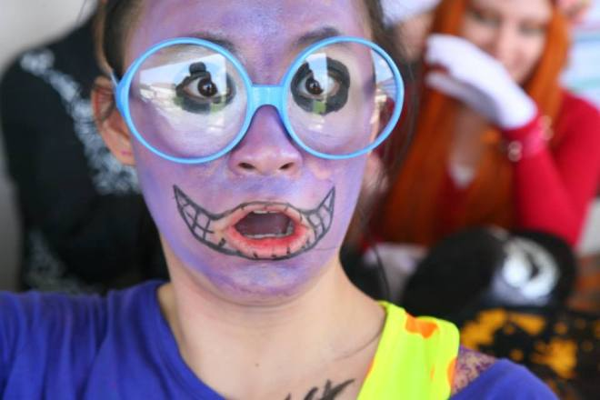 Varee International students celebrate Halloween Chiangmai School Thailand