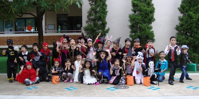 Varee School Grade 1 Halloween