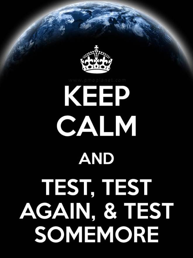 Test Keep Calm