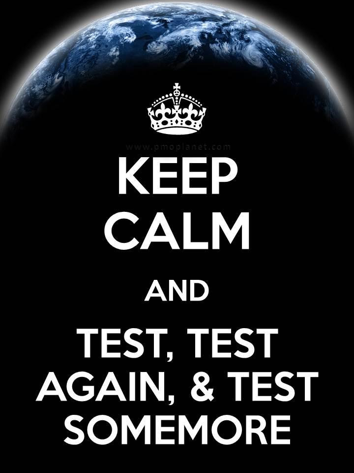 Test Keep Calm