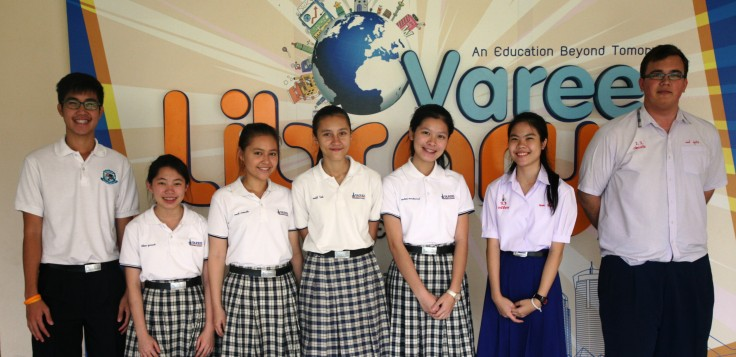 Varee Chiangmai English Programme Cambridge International school examination Checkpoint Science Mathematics students EP