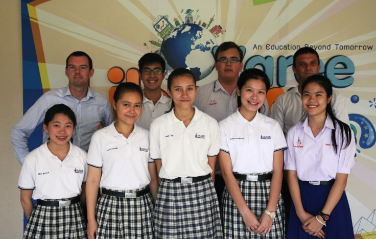Varee Chiang Mai School English Program Cambridge International exam Checkpoint Science Mathematics Thai students EP