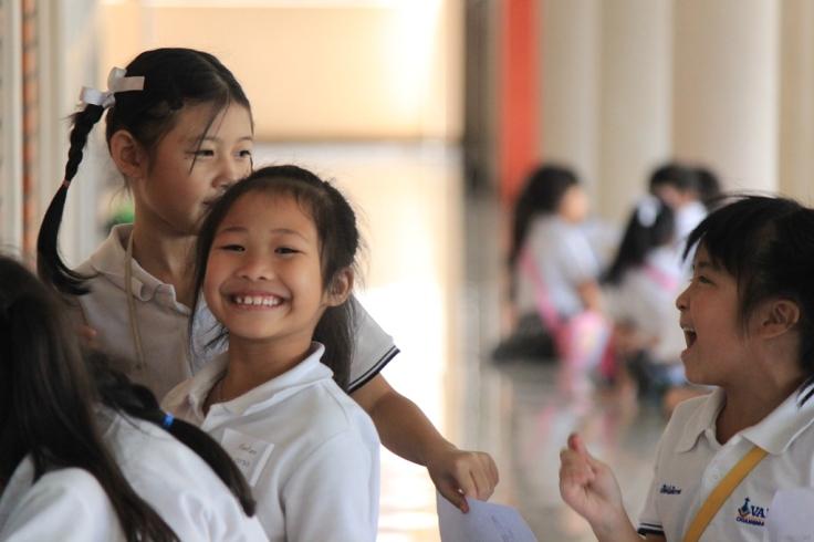 students at Varee Chiangmai School English Programme Thailand