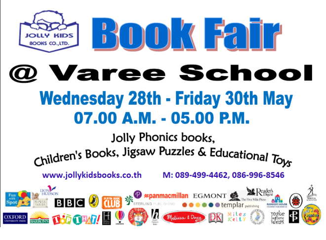 Varee Book fair 28052014