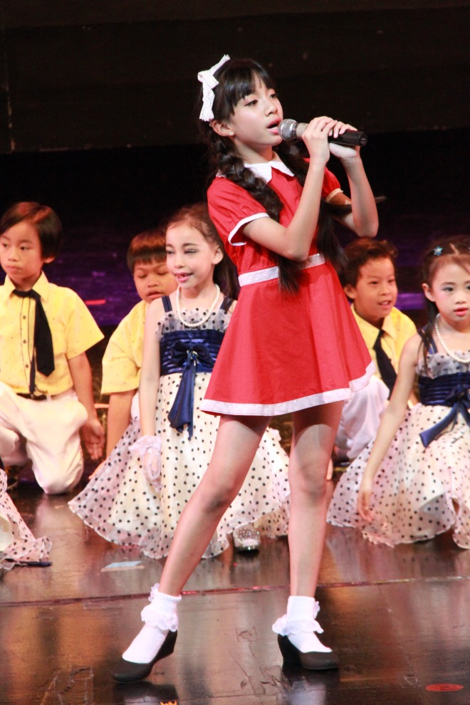 annie 'Annie' musical schooll show performance international kids students Varee