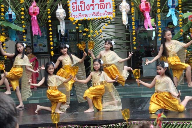 Yi Peng at Varee School Thailand