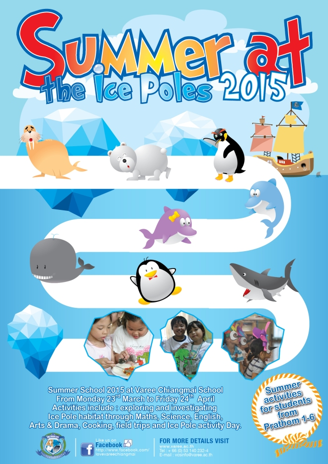 Summer-ICE-2015-02 Varee School Chiang Mai