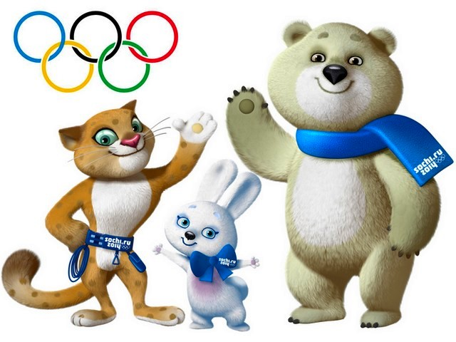 2014-Sochi-Winter-Olympics-Mascots-Wallpaper