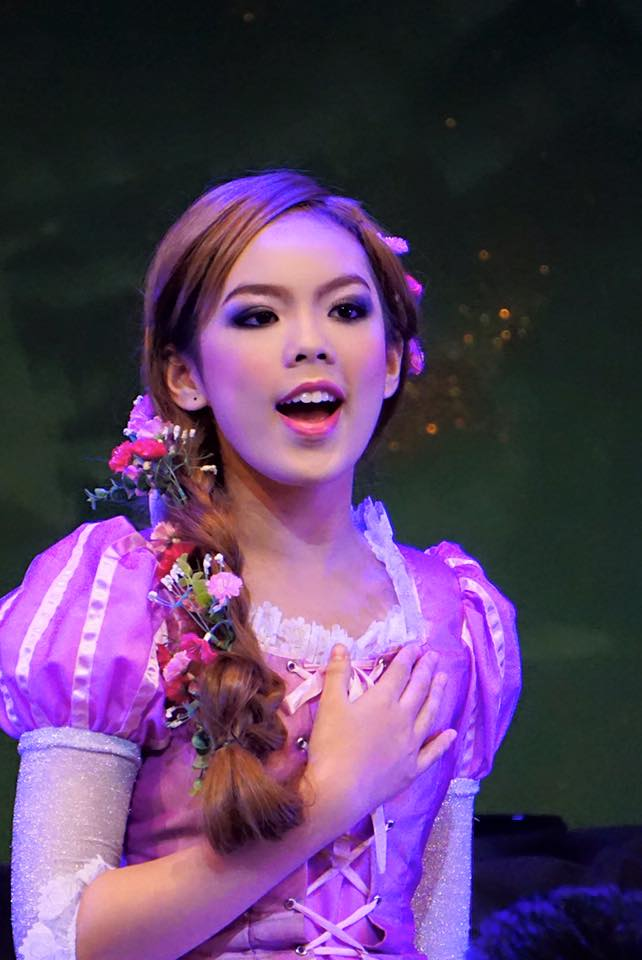 Rapunzel at Kad Theater, Chiangmai, Thailand, school performance