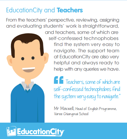 education city teacher daniel quote