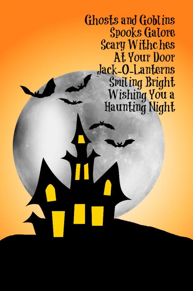 Short Halloween Poems 1