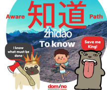 Character for word 'to know' in Mandarin Chinese